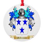 McKinnes Round Ornament