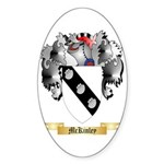 McKinley Sticker (Oval 50 pk)