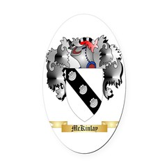 McKinlay Oval Car Magnet