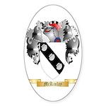 McKinlay Sticker (Oval 50 pk)