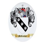 McKinlay Oval Ornament