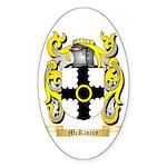 McKiniry Sticker (Oval 10 pk)