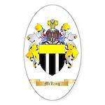 McKing Sticker (Oval 50 pk)