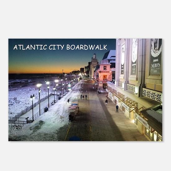 Cute Atlantic city nj Postcards (Package of 8)