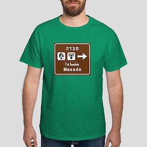 Masada, Israel Dark T-Shirt