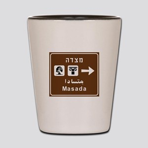 Masada, Israel Shot Glass