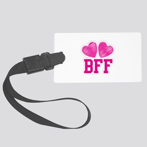 BFF Best Friends Forever Large Luggage Tag