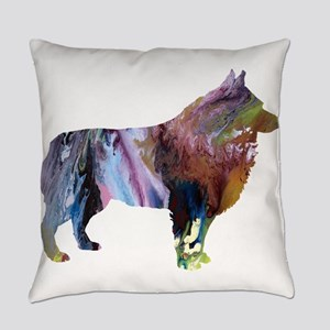 Schipperke Everyday Pillow