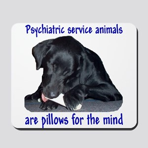 """Pillow for the Mind"""" Mousepad"