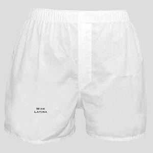 Wise Latina Boxer Shorts