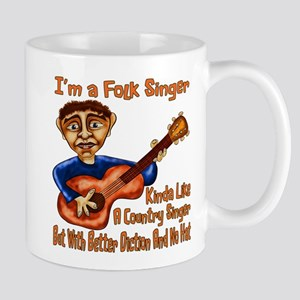Folk Singer Mugs