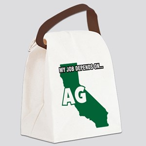 CA-MJDOA Decal Canvas Lunch Bag