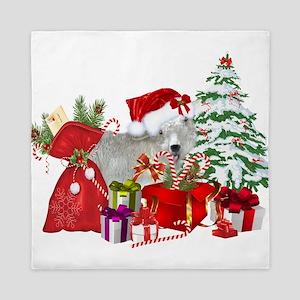 Goat BabyGirl Christmas Queen Duvet