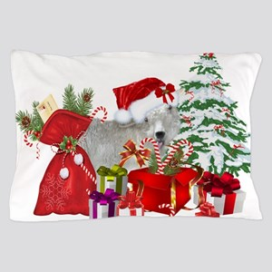 Goat BabyGirl Christmas Pillow Case