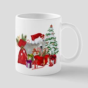 Goat BabyGirl Christmas Mugs