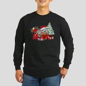 Goat BabyGirl Christmas Long Sleeve T-Shirt
