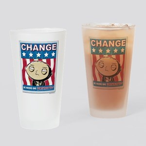 Family Guy Stewie Change Drinking Glass