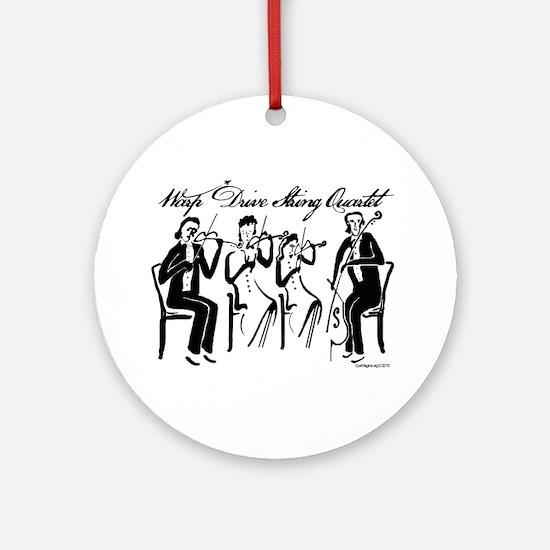 String Quartet Round Ornament