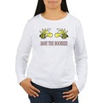 Save the Boobees Women's Long Sleeve T-Shirt