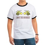 Save the Boobees Ringer T