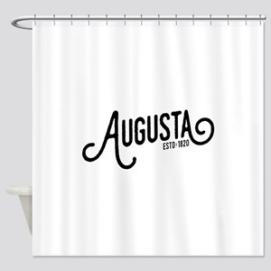 Augusta, Maine Shower Curtain