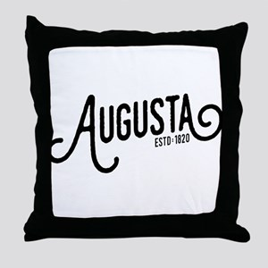 Augusta, Maine Throw Pillow