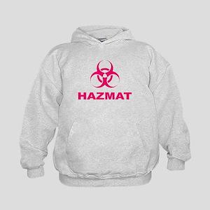 Biohazard Warning Kids Hoodie