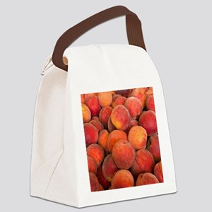 PEACHES 2 Canvas Lunch Bag