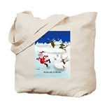 The Real War on Christmas Tote Bag