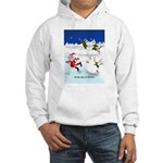 The Real War on Christmas Hooded Sweatshirt