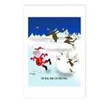 The Real War on Christmas Postcards (Package of 8)