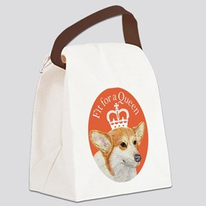 Fit for a Queen Canvas Lunch Bag