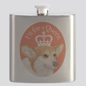 Fit for a Queen Flask