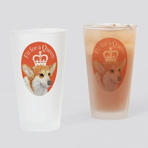 Fit for a Queen Drinking Glass