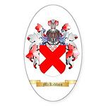 McKibbon Sticker (Oval 50 pk)