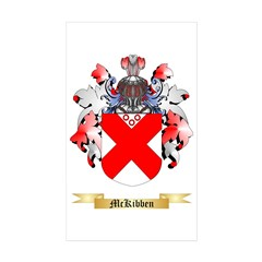 McKibben Sticker (Rectangle 10 pk)