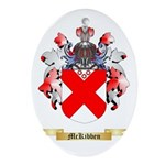 McKibben Oval Ornament