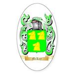 McKey Sticker (Oval)