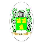 McKey Sticker (Oval 50 pk)