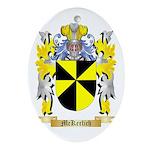 McKerlich Oval Ornament