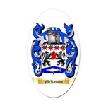 McKeown Oval Car Magnet