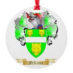 McKenna Round Ornament