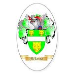 McKenna Sticker (Oval 10 pk)