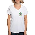 Mcken Women's V-Neck T-Shirt
