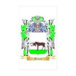 Mcken Sticker (Rectangle 50 pk)