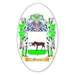 Mcken Sticker (Oval 50 pk)