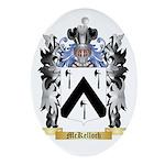 McKelloch Oval Ornament