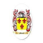 Mckell Oval Car Magnet