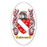 McKeever Sticker (Oval 50 pk)