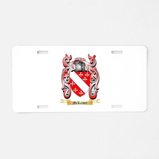 McKeever Aluminum License Plate
